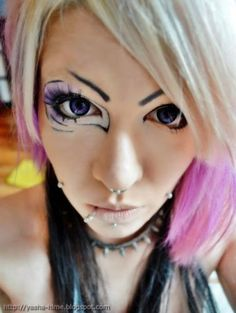 Colored contact lenses-12-months-Strong-Funlinsen-Contact-Lens-i-Fairy-Ash