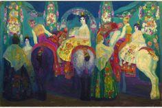 Hermenegildo Camarassa, Feria à Valence — +/- 1907