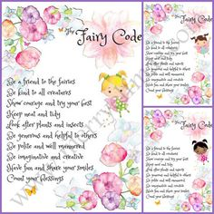 Fairy Code printables with Fairy Certificates to by MerryElfmas