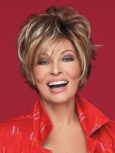 Feel the breeze run through your hair wearing short synthetic wigs from Salon Cool Lace Front Wig by Raquel Welch. Synthetic Lace Front Wigs, Synthetic Wigs, Wig Styles, Short Hair Styles, Raquel Welch Wigs, Jon Renau, Short Wigs, Womens Wigs, Strawberry Blonde