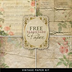 Textures – Old Vintage Backgrounds