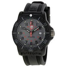 Luminox Black Ops Carbon Grey Dial Black Rubber Mens Watch 8802