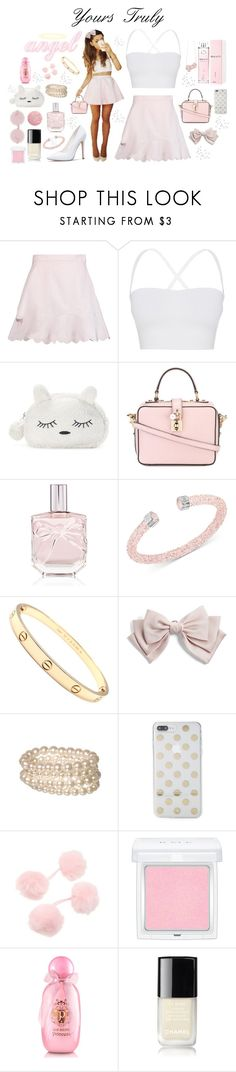 """Yours Truly ♡"" by xx-isabella-xx ❤ liked on Polyvore featuring See by Chloé, Theory, SO, Dolce&Gabbana, Victoria's Secret, Hello Kitty, Swarovski, Cartier, Cara and Kate Spade"