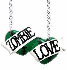 Large double heart necklaces