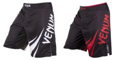 A thrilling new pair of Venum Fight Shorts emerges in the form of this 'Challenger' design, providing enough style and performance features to keep any mix Fight Wear, Fight Shorts, Mma Gear, Compression Shorts, Mixed Martial Arts, Rash Guard, Athletic Shoes, Sweatpants, Workout