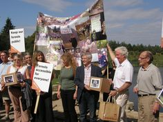 The panel receive our petition by 38 Degrees, via Flickr