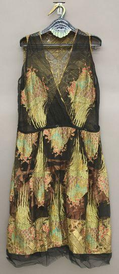Erte evening dress, 1920s