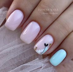 amazing nail designs ideas for short nails to try page 31 ~ my. - amazing nail designs ideas for short nails to try page 31 ~ my. Dream Nails, Love Nails, Pink Nails, My Nails, Stylish Nails, Trendy Nails, Feather Nails, Minimalist Nails, Cute Acrylic Nails