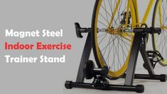 Exercise bikes are a wonderful way to get a low-impact exercise workout. Of course today's bikes like those from Sportsart, Tunturi, Nordictrack, Schwinn, and Pro Form are a far cry from the … Indoor Bike Trainer, Recumbent Bicycle, Bike Equipment, Low Impact Workout, Magnets, Trainers, Exercise, Steel, Reading