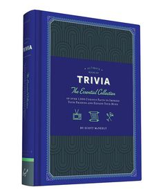 Loving this Ultimate Book of Trivia Hardcover on #zulily! #zulilyfinds