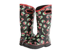 Bogs Rainboot Fruit Strawberry - 6pm.com