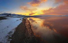 Tuzkol Lake is known as the Dead Sea of Kazakhstan
