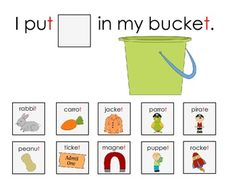 SENTENCE FRAME ACTIVITY TO target final consonant deletion or build vocabulary or expand sentence structures- FREEBIE! - Repinned by  SOS Inc. Resources  http://pinterest.com/sostherapy.