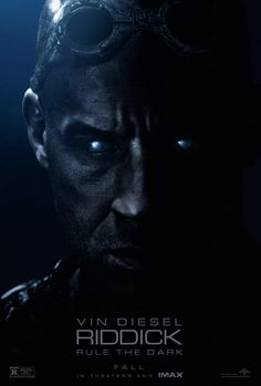 """New poster of """"Riddick"""" starring Vin Diesel"""