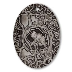 Would be so cool carved out of wood! Midwife gift ideas