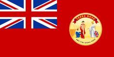 Flag of the Dominion of Newfoundland. Aerosmith, Arctic Monkeys, British Empire Flag, Francois Feldman, Jean Claude Pascal, British North America, Elodie Frégé, Daddy, Bohemia