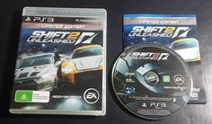 Shift 2 Unleashed Limited Edition Sony PlayStation 3 -  PS3 - FREE Postage