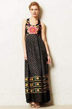 Nanda Maxi Dress #anthropologie #anthrofave