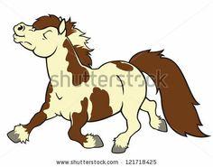 Cartoon pony from google search
