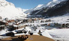 Chalet Cristal A in Val-d'Isère, France #chalet #ski #view