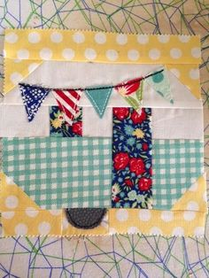 Pretty Little Quilts: Vintage Camper Instructions
