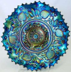 David Doty's Carnival Glass Website - Lots of info! (Fanciful Pattern)