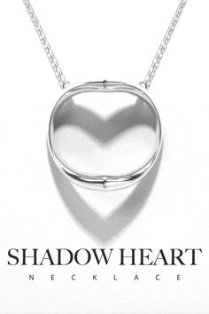 Shadow Heart is innovative jewelry that elegantly casts a silhouette of the heart symbol. It is a special gift, especially for the one you love or for yourself.