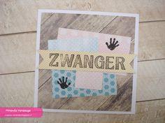 Miranda & # s Creations - Schwangerschaftskarten - Kaarten - zwanger - Baby Cards, Card Ideas, Amp, Pregnancy, Cards