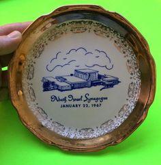 Adath Israel commemorative plate - 1967.