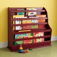 Kids' Bookcases: Kids Red Floor Book Bin in Bookcases | The Land of Nod