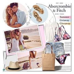 """""""The A&F Summer Getaway Giveaway: Contest Entry"""" by barbarela11 ❤ liked on Polyvore featuring moda, Abercrombie & Fitch, K. Jacques, polyvoreeditorial ve polyvoretopics"""