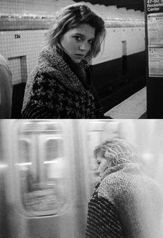Lea Seydoux, rag and bone Lea Seydoux Adele, Portrait Photography, Fashion Photography, Street Photography, French Actress, Rag And Bone, Black And White Photography, France, Role Models
