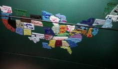 Type Truck state magnet collection!