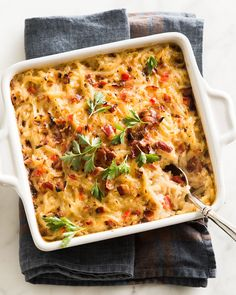Hash Brown Casserole with Bacon - Neiman Marcus