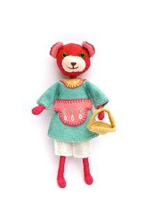 Felt Bear Doll Making Kit Beatrice.