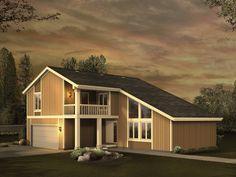 Barstow Contemporary Home  from houseplansandmore.com