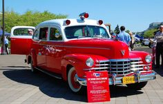 47 Cadillac Ambulance