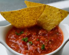 Tomaten dipsaus Getest en goedgekeurd! Hot en spicy!