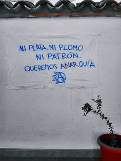 Free Mind, I Love You, My Love, Some Quotes, Anarchy, Street Art, Feelings, Cannabis, Spanish