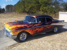 57 Chevy Hot Rod Photo by hotrodman