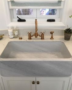 I think this sink might just make me love doing dishes! This was one of my favorite elements at the Pasadena showcase house… Waterworks, Happy Monday, Vignettes, Sink, Dishes, House, Instagram, Home Decor, Sink Tops