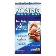 Zostrix Neuropathy Cream, 2-Ounce Box.