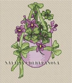 Easter Egg Cross Stitch Pattern, code NC-054 Natalya Cherepanova | Buy online on Mybobbin.com