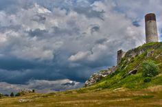 Ruins of Olsztyn castle