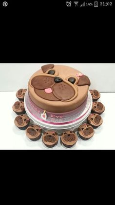 Wonderful DIY Cute Pug Cake Wonderful DIY Pug Cake