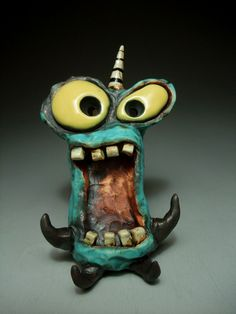 IDEAS TO MAKE WITH THE BOY! Ceramics Projects, Clay Projects, Clay Crafts, Ceramic Monsters, Clay Monsters, Ceramic Clay, Ceramic Pottery, Pottery Art, Dragons