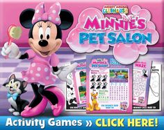 Mickey Mouse Clubhouse: Minnie's Pet Salon on DVD ~ Review & Giveaway!! PLUS BONUS ACTIVITY SHEETS!! (ends 6/5)  Enter NOW!!  http://africasblog.com/2015/05/28/mickey-mouse-clubhouse-minnies-pet-salon/