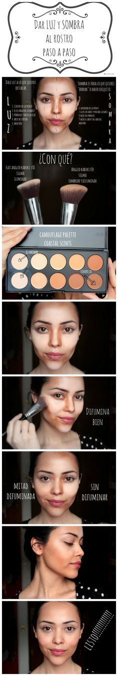 Highlights and contour tutorial -more pictures? see you soon on www.mysupermakeup.com