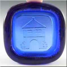 PLUS Glashytta 1970s Blue Glass Bowl - Richard Duborgh - £14.99