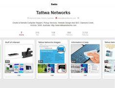 Tattwa Networks social profile on pinterest!